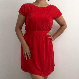 New MNG Mango Red Dress